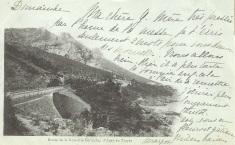 Avant 1903. Calanque du Petit Caneiret. Le sentier est visible. La route n'est pas construite.