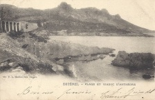 Avant 1903. Viaduc et chemin aménagé.