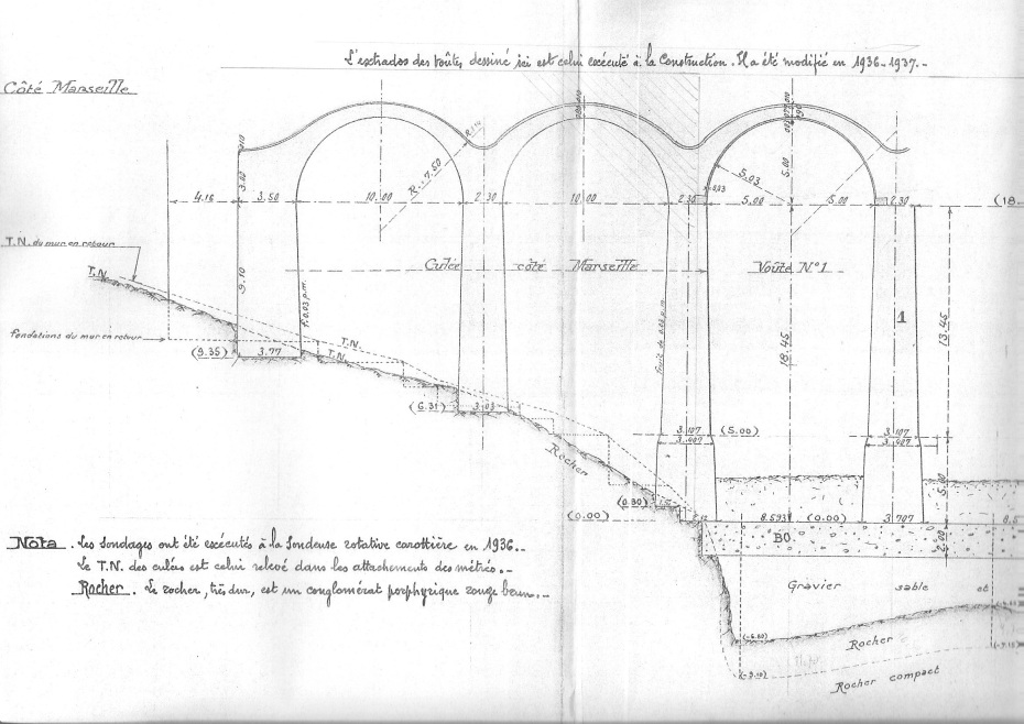 Plan du viaduc